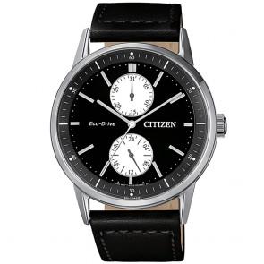 Orologio uomo Citizen classico/sportivo in acciaio a carica solare con data
