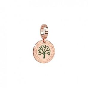 pendente charm rebecca in bronzo con albero della vita