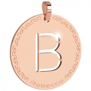 Pendente Rebecca Jewels - Lettera in bronzo BWRPRB02