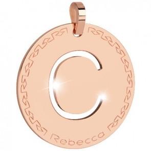 Pendente Rebecca Jewels - Lettera in bronzo BWRPRC03
