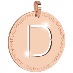 Pendente Rebecca Jewels - Lettera in bronzo BWRPRD04