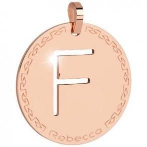 Pendente Rebecca Jewels - Lettera in bronzo BWRPRF06
