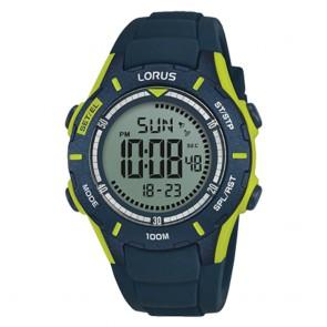 Orologio Lorus uomo sportivo verde digitale multifunzione
