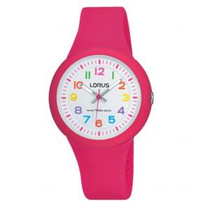Orologio bambina Lorus analogico rosa acceso