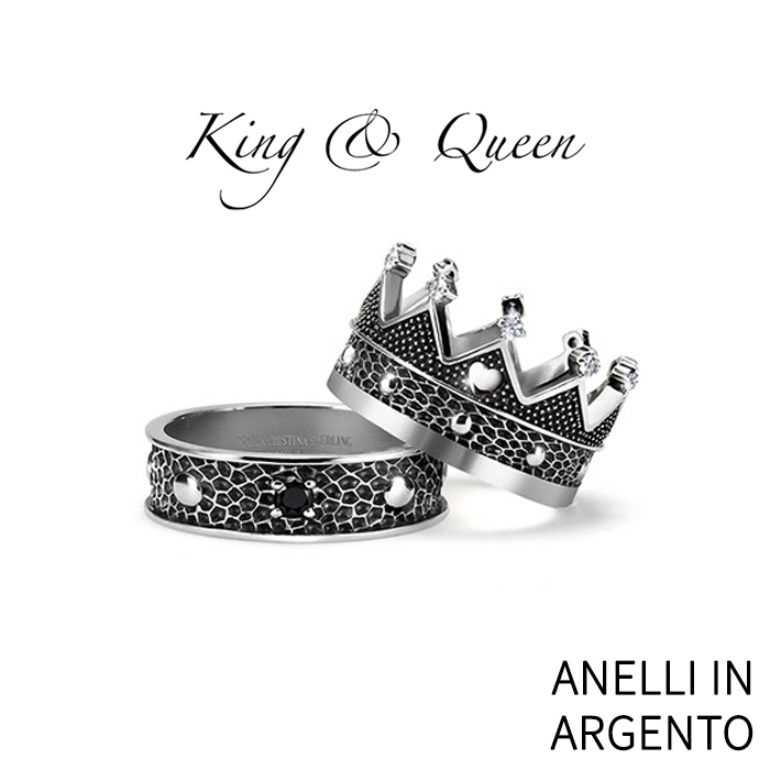 anelli in argento